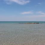 Il mare della Baia dei Turchi